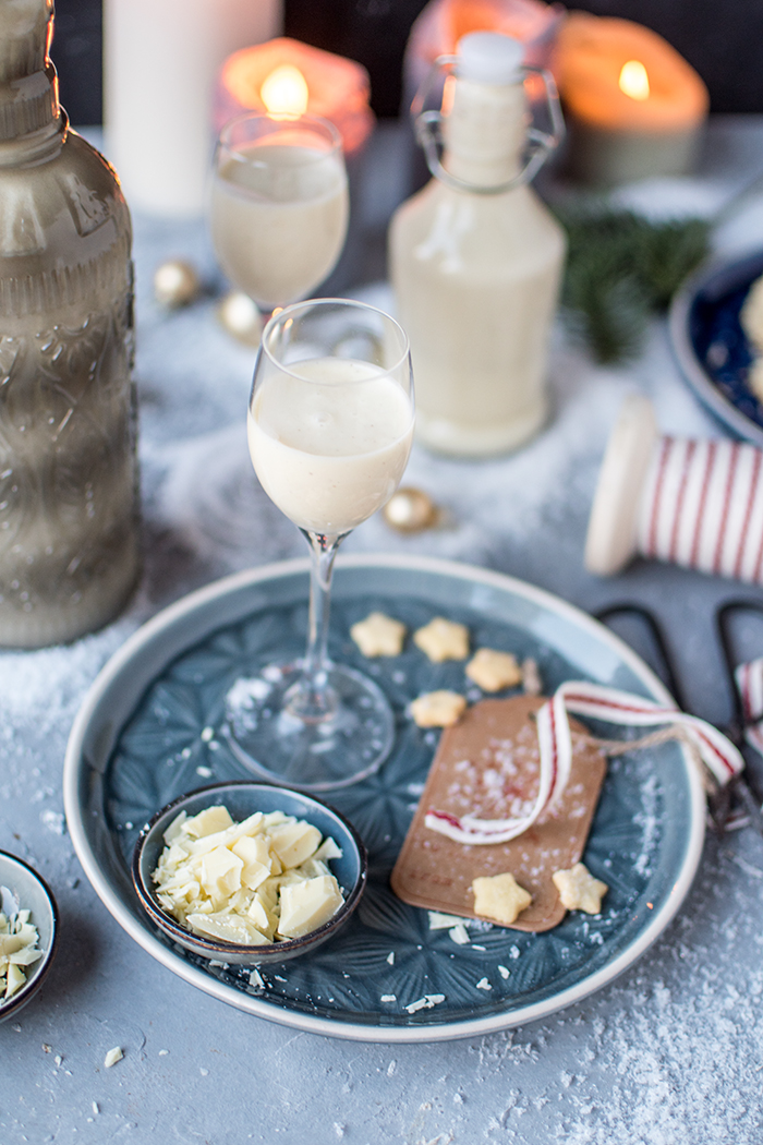 Weiße Schokolade Vanille Likör: Ein Geschenk aus der Küche ...