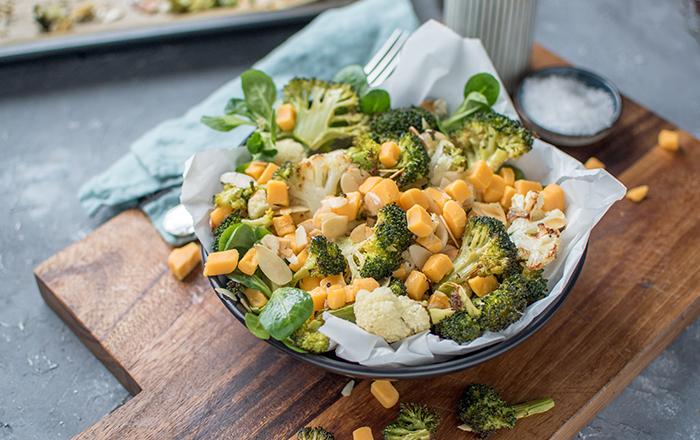 Brokkoli-Cheddar-Salat: Schnelles Feierabendessen