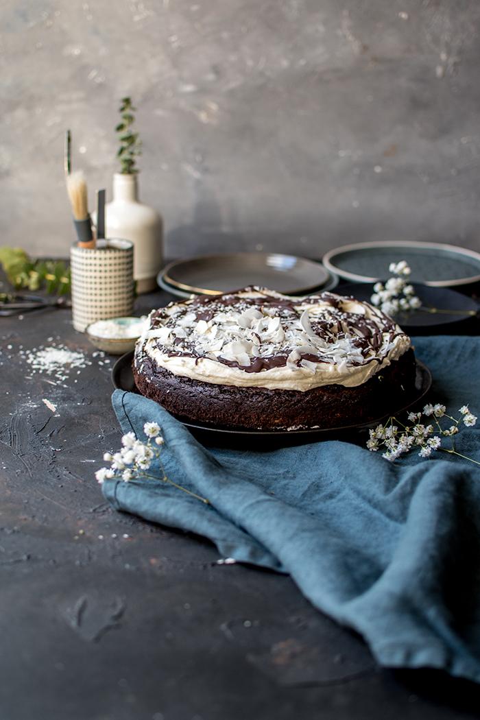 Kokos Schoko Kuchen Urlaub Auf Dem Kuchenteller Knusperstubchen