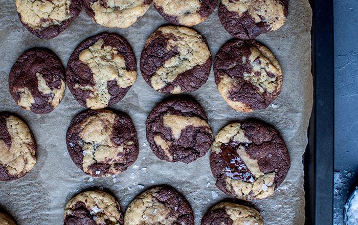 Marmor-Cookies: Knuspriges Keksglück