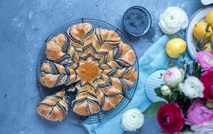 Mohnzopf-Blume: Frühlingsgefühle auf dem Teller