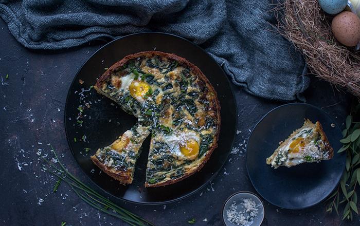 Kartoffel-Nest-Quiche: Besser spät als nie