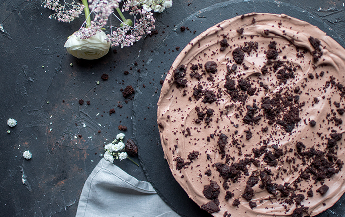 Double Chocolate Chip Cookie Kuchen: Chocoholics hallo!