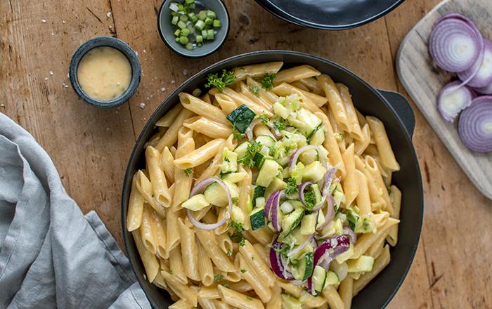 Cheddar-Pasta mit Nussbutter & Irlandurlaub Teil 3