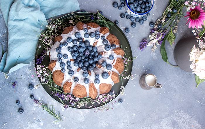 Blaubeerkuchen mit Zitrone: Rührkuchen geht immer!