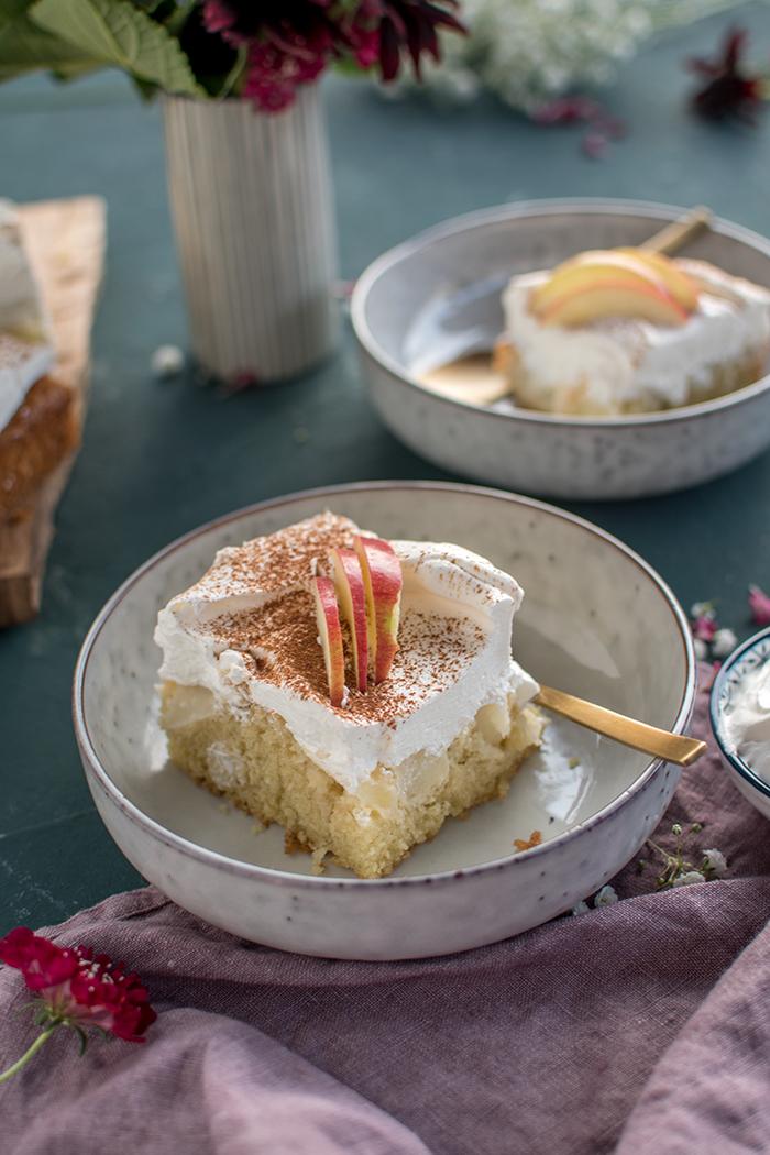 Apfel Joghurt Kuchen Genuss Auf Dem Kuchenteller Knusperstubchen
