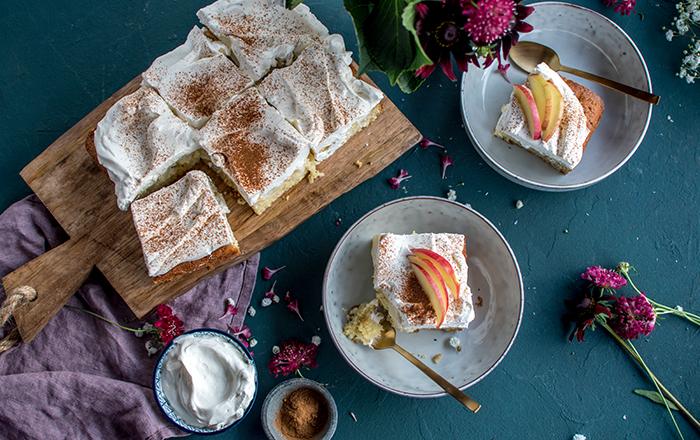 Apfel-Joghurt-Kuchen: Genuss auf dem Kuchenteller