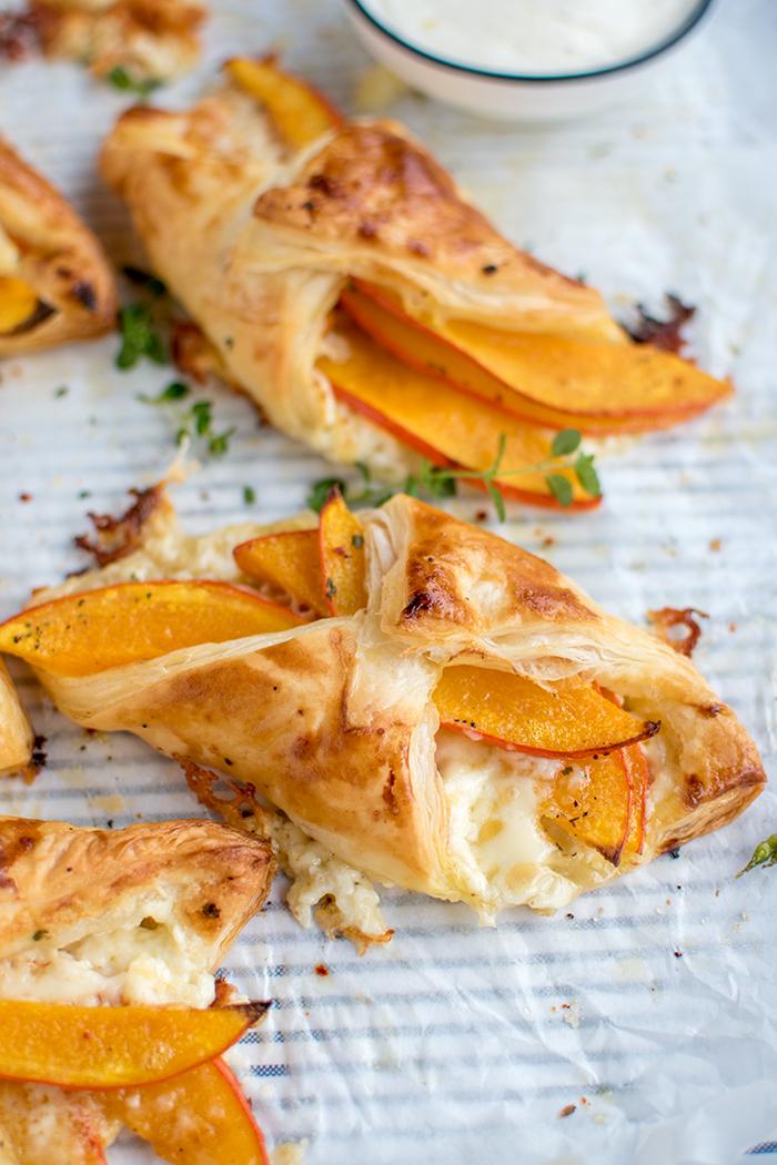 Kürbistaschen: Ein knuspriger Herbst-Snack