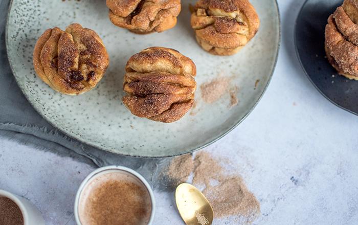 Apfel-Zimt-Pull-Apart-Muffins: Frohe Weihnachten