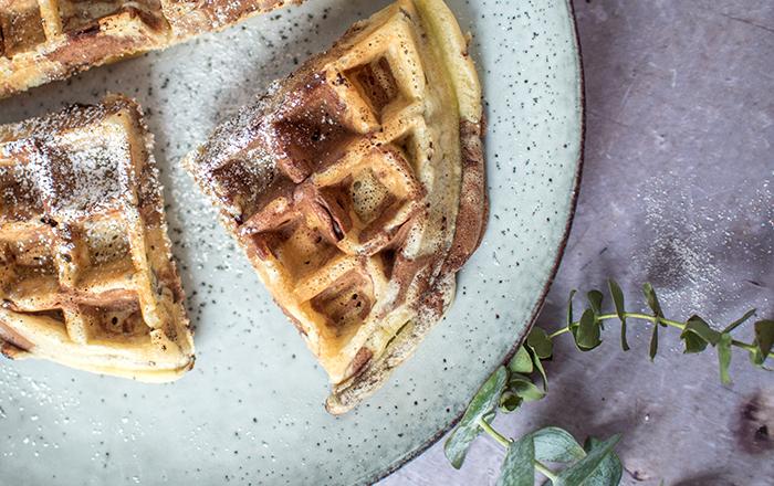 Lebkuchen Marmor-Waffeln: A waffle a day…