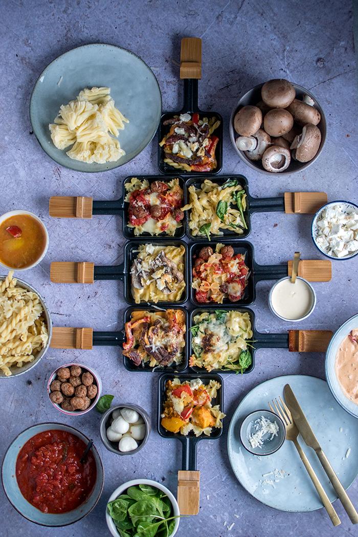 Was Ist Raclette : raclette pasta party 4 saucen f r das pasta pf nnchen knusperst bchen ~ Watch28wear.com Haus und Dekorationen