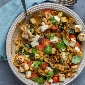 Pasta-Auflauf Greek Style: Ein Soulfood-Rezept
