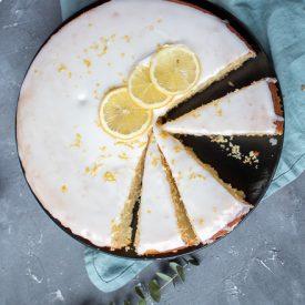 Zitronen-Grieß-Kuchen: Frisch ins neue Jahr