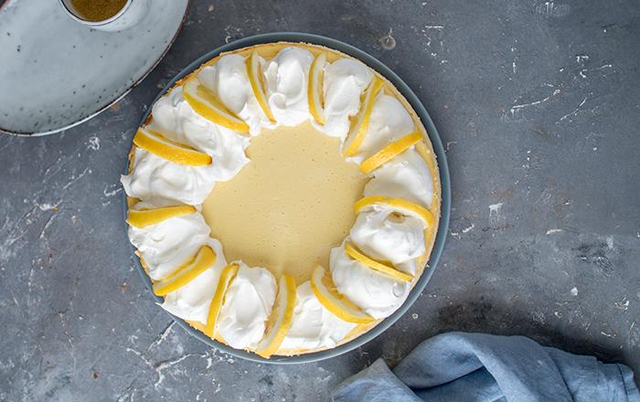 Zitronen Cheesecake: Cremig und erfrischend