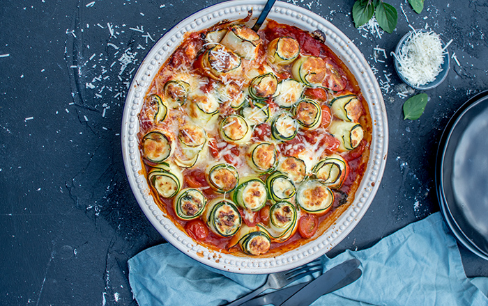 Zucchini-Cannelloni mit Ricotta-Spinat-Füllung: Sommersoulfood ahoi!