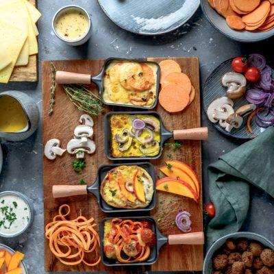 Raclette im Herbst: Flammkuchen, Süßkartoffel-Gratin und mehr!
