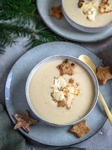 Blumenkohl-Kokos-Suppe