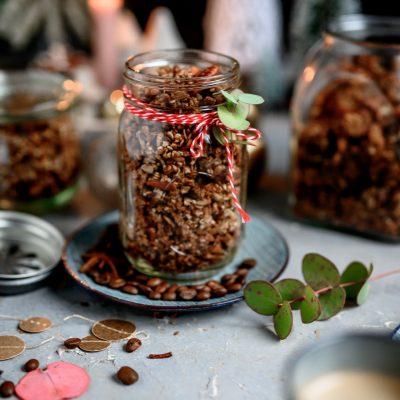 Kaffee-Zimt-Granola: Ein Geschenk für Knusperfans