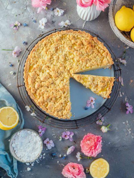Streuselkuchen mit Zitronencreme: Wenn das Leben … #bleibzuhause