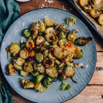 Rosenkohl aus dem Ofen: Schnelles Abendessen