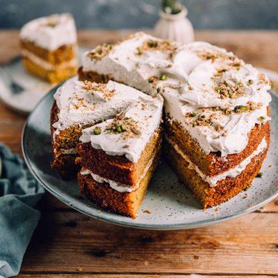 Schwedischer Möhrenkuchen – Morotskaka und der Kenwood Back Award